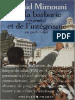 De La Barbarie en Général Et de Lintégrisme en Particulier by Mimouni Rachid (Z-lib.org).Epub