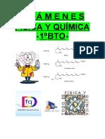 Exámenes de 1º BTO F y Q
