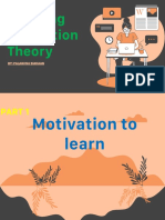 Learning Motivation Theory