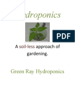 Hydroponics by Green Ray Hydroponics
