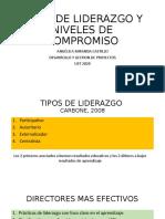 TIPOS DE LIDERAZGO Y NIVELES DE COMPROMISO
