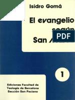 Isidro Gomá, El Evangelio según  San Mateo-Vol 1.pdf