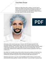 Recipes Facial Masks For Blackheads in Youriuxuv.pdf