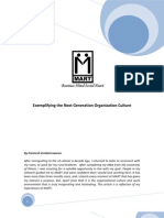 MART_Exemplifying the Next Generation Organisation Culture