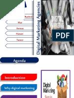 D.M. agencies