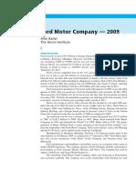 18 Ford Motor Company 2009