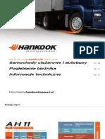 Hankook Katalog Ciezarowe -2007