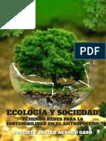 Ecología y Sociedad. Tejiendo redes para la sostenibilidad en el Antropoceno