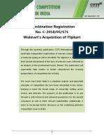 Walmart's Acquisition of Flipkart.pdf