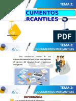 2.- Documentos mercantiles