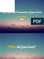 Life, death and resurrection of Jesus Christ.pptx