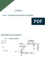 Aula 03 - Equações Fundamentais