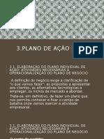 3. Plano de ação