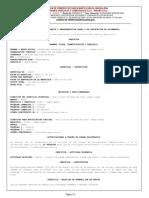 Certificado De Existencia Y Representación Legal INAGRO