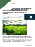 _Agricultura solar urbana_ para la producción de hortalizas hidropónicas