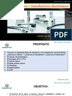 Sensores y Transductores Electrónicos