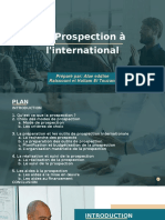 La Prospection à l'international