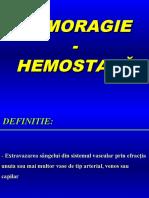 4. hemoragie.hemostaza