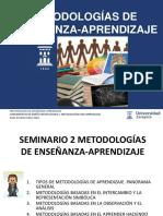 2 Metodologias de enseñanza aprendizaje FE
