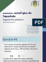 EXPOSICION Reactores Ejercicio no 4-1