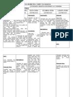 Tabela Atividade Remota 1 Ano b 1ª Semana - Cópia