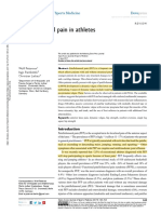 Pattelar Femoral Pain in Athletes Jospt 2017