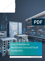 APN-060 Low Impedance Restricted Ground Fault Protection