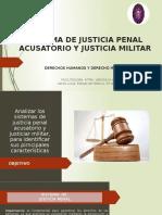 CLASE 4 DH Y DIH- SISTEMA DE JUSTICIA PENAL