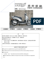 Kymco People S -- Parts List Manual