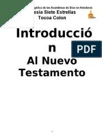 Introduccion al Nuevo Testamento