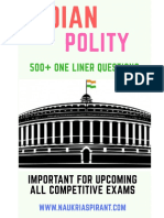 polity-one-liner-in-English