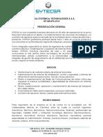ResumenPresentación Sytecsa 2020