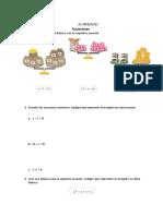 Ecuaciones con balanza.doc