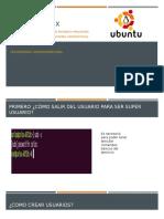 Explicación linux