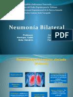 Caso clinico Neumonia Bilateral