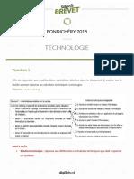 CORRIGE 1brevet-technologie-pondichery-2018