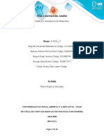 Resistencia de los materiales Estática Fase 3 colaborativo Grupo 212019_17.docx