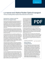 Go Native with Native Packet Optical