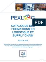 Catalogue_formations_PEXLOG_2019 logistic supply chain