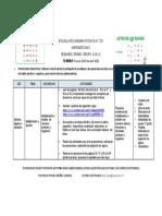Plan de acción 2° A,B y C