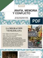 Fotografía, Memoria y Conflicto