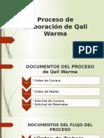 Proceso de Elaboración de Qali Warma