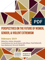 Perspectives on the Future of Women, Gender and Violent Extremism