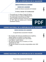 HIMNO NACIONAL DE EL SALVADOR.