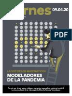 Matemáticos modeladores de la pandemia