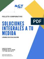 FOLLETO CORPORATIVO IMPACT-PSY