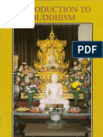 Introduction to Buddhism - Rewata Dhamma Sayadaw