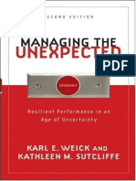 Managing the Unexpected by Karl E. Weick