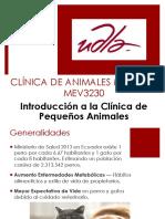 Introducción Clínica Veterinaria