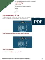 Como configurar o ps2 CHIP MATRIX INFINITY para jogar jogos de ps1 e assistir filmes.pdf